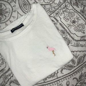 Brandy Melville Flamingo Top